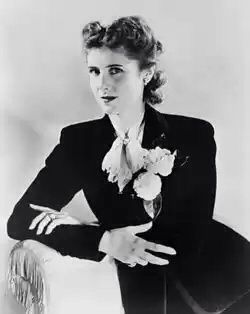 Clare Booth Luce (March 10 1903-October 9 1987) was the first American woman appointed to a major ambassadorial post abroad. A versatile author, she is best known for her 1936 hit play The Women, which had an all-female cast. She was the wife of Henry Luce, publisher of Time, Life and Fortune.