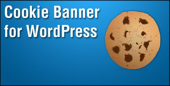 Cookie Banner for WordPress   http://codecanyon.net/item/cookie-banner-for-wordpress/4465639?ref=damiamio       The popular PHP/jQuery plugin arrives onto WordPress exclusively on CodeCanyon. This WordPress Plugin that displays a non-intrusive banner at the top of the page notifying users that your website is collecting cookies which is tiny bits of information which can be collected by Google Anaytics or other various scripts which may track what users are doing.  	 ICO which is an online…