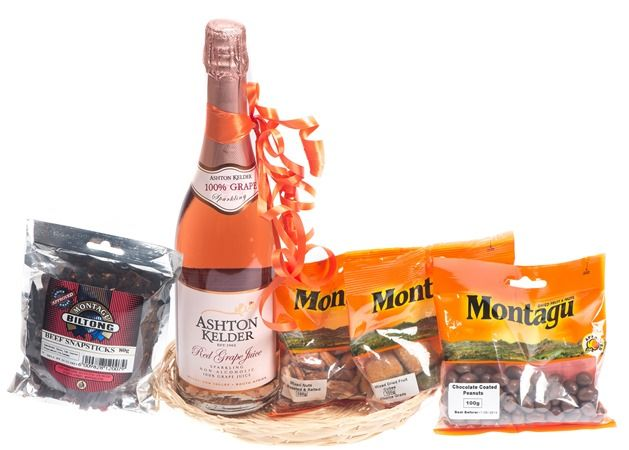 Montagu's dried fruit and nuts will make the perfect treat this Christmas or try their hampers from R120 each.  Montagu Dried Fruit & Nuts - 014 537 2244.