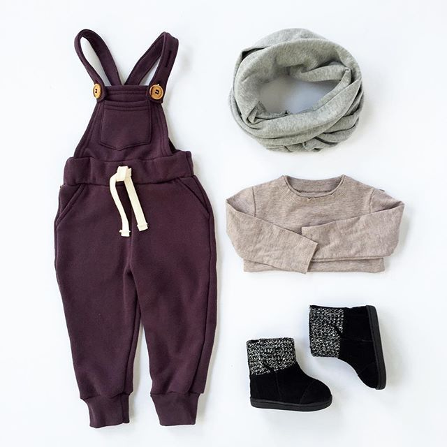 #ootd featuring the #notsobasics comfy overalls #mmbestbasics, circle scarf and new #toms boots