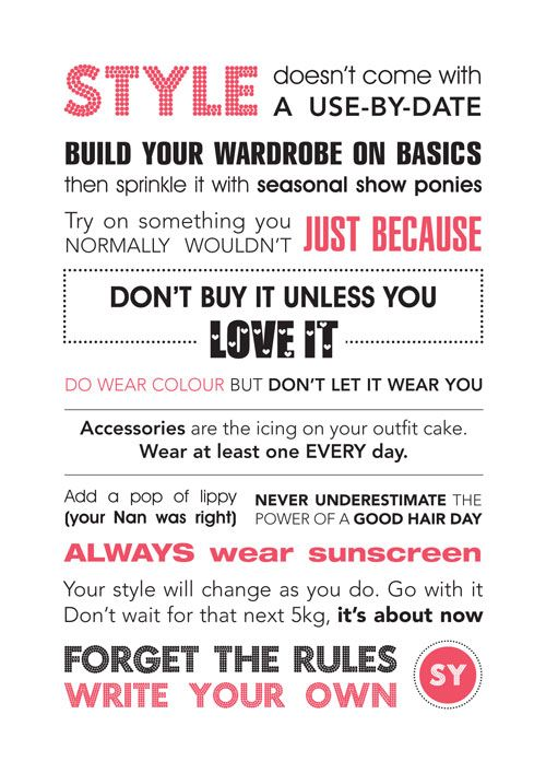 The Styling You Manifesto