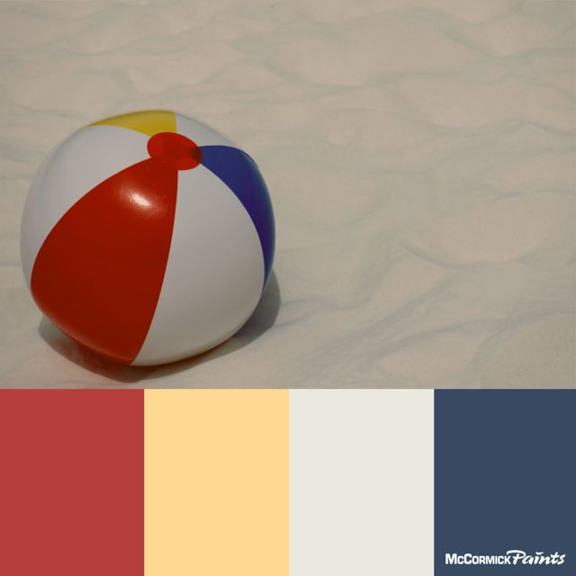 17 Images About Summer Paint Colors On Pinterest Red