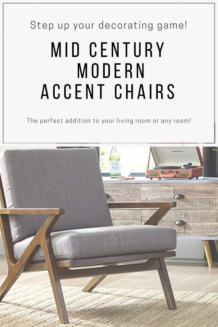 Mid Century Modern Chair Accent Chairs Home Decor