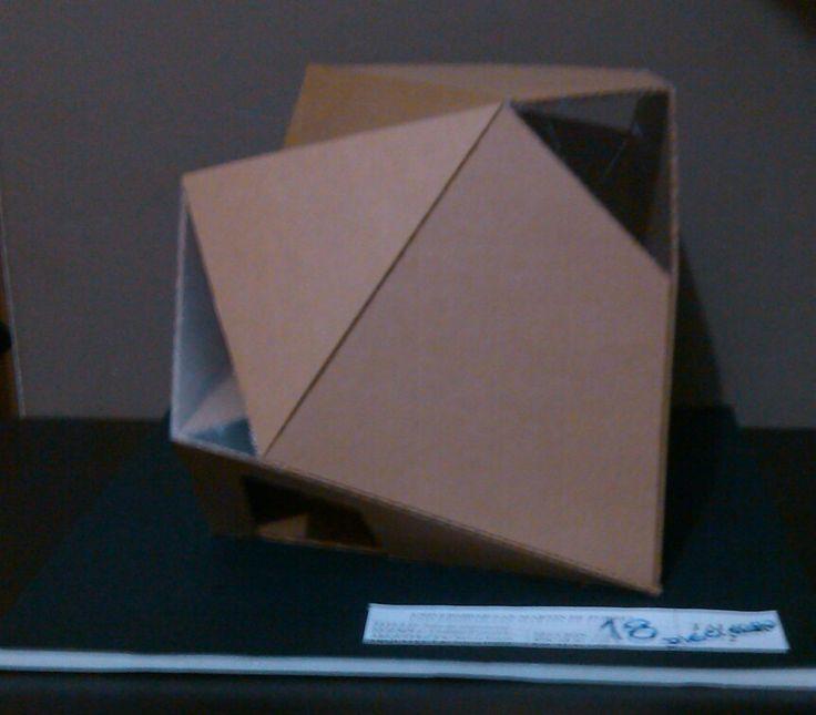 Maqueta de una sala de exposición :)