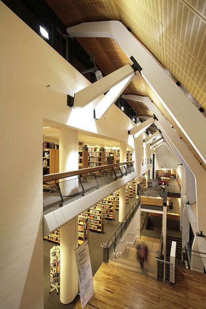 Münster City Library, Bolles-Wilson + Partner 1993