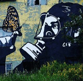 Butterfly by Pøbel (Lofoten, Norway)