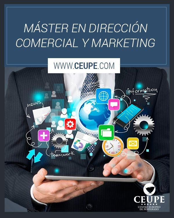 Máster En Dirección Comercial Y Marketing Con El Desarrollo Del Mundo De Los Negocios Hacia Procedim Marketing De Servicios Marketing Estrategias De Marketing