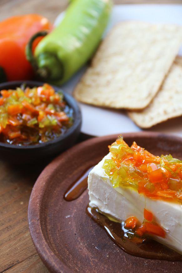 Receta Mermelada de Ají Amarillo y Ají Verde. Fotos paso a paso de la receta.