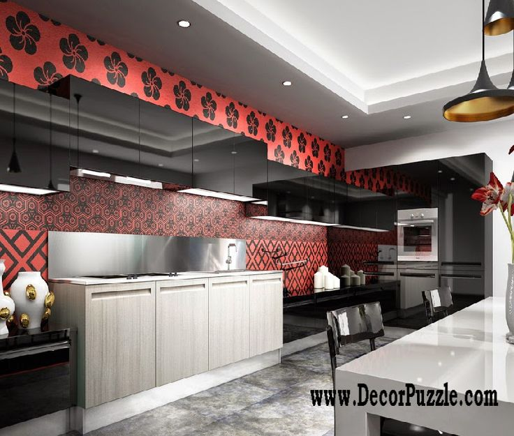 Contemporary Red Kitchen: 17 Best Ideas About Minimalist Kitchen Cabinets On