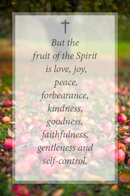 Fruit Of The Spirit Quotes Fruit Bible Kindness Spirit