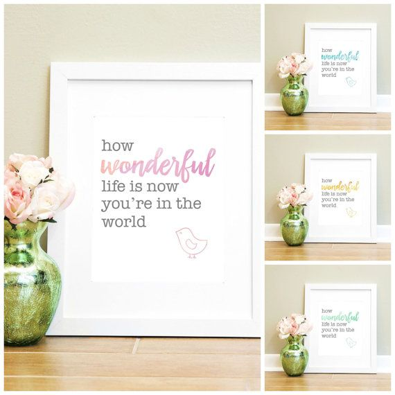 Hey, I found this really awesome Etsy listing at https://www.etsy.com/listing/175449661/how-wonderful-life-is-now-youre-in-the