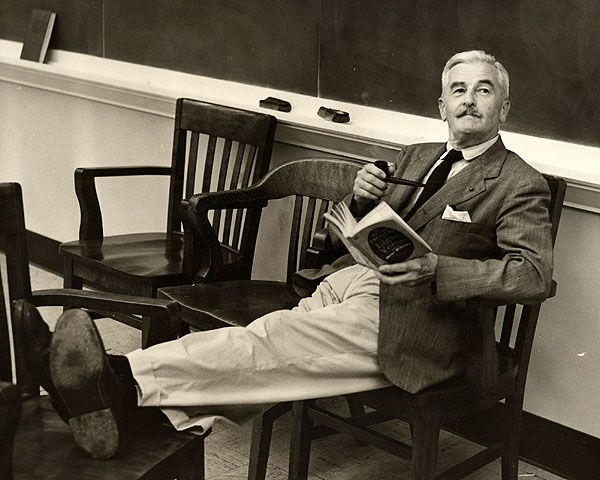 Words and Music, a festival of Faulkner, is headquartered at the Hotel Monteleone annually in the late fall.