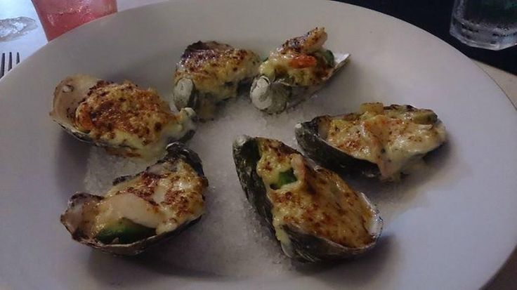 just the way we love our oysters.. guest photo, trip advisor #ontheinlet seafood restaurant port douglas