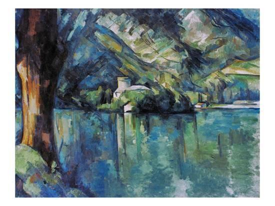 Cezanne: Annecy Lake, 1896 Giclee Print by Paul Cézanne at Art.com