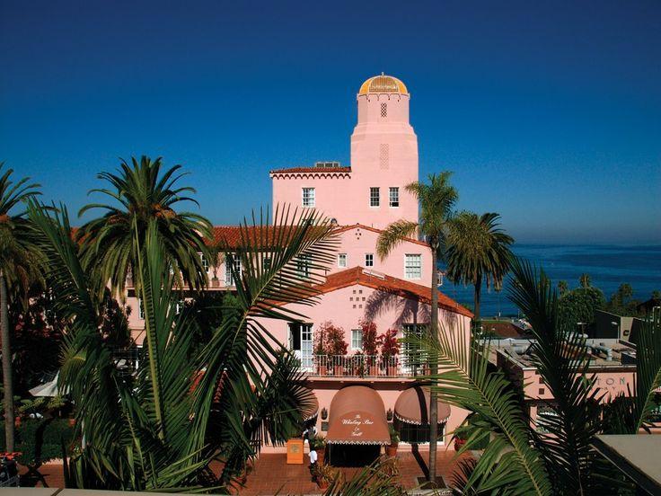 Hotel La Valencia, La Jolla, California where my husband and I got married