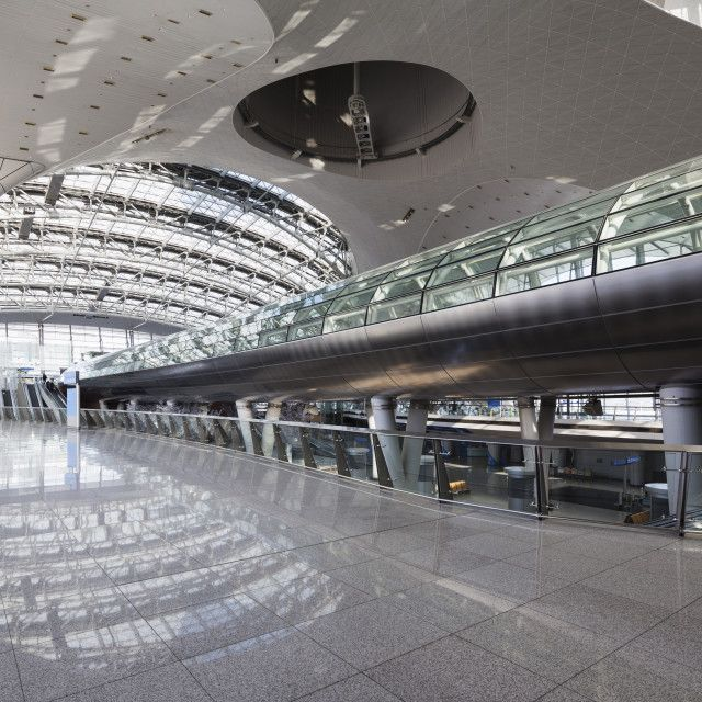 'Incheon International airport, South Korea, Asia' on Picfair.com