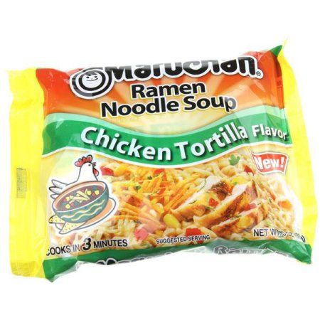 Free 2-day shipping on qualified orders over $35. Buy Maruchan Inc. Ramen Chk Tortilla 3 Oz at Walmart http://fave.co/2sqWUbD