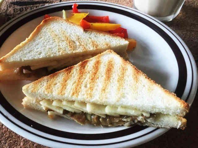 アップルチークス風サンドイッチの画像