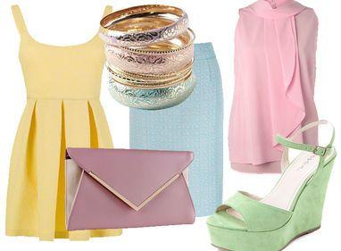 Moda: colori pastello low cost - Donna Moderna