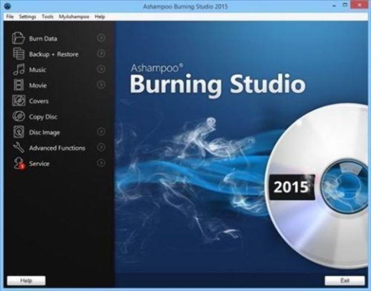 Selling on vFLea.com - Ashampoo Burning Studio 15