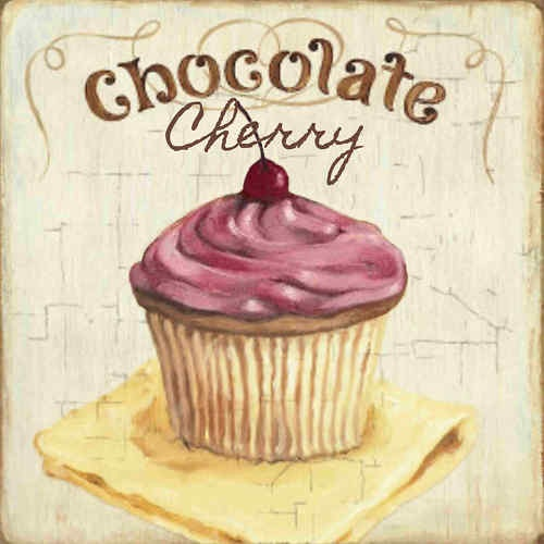 Cupcake Shabby Sign Home Baked Chocolate Cherry Vanilla Kitchen Signs You Pick | eBay
