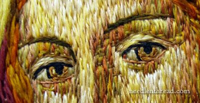 Figure Embroidery - Embroidered Eyes
