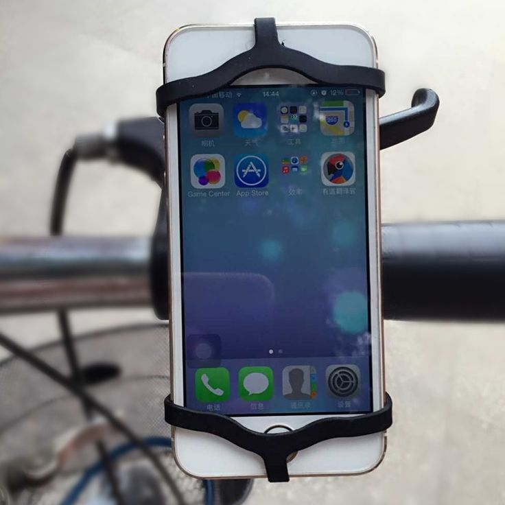 FREE Mobile Phone Bike Handlebar Mount, Support for iPhone and Samsung