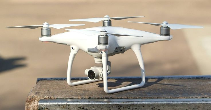 The DJI Phantom 4 is the coolest drone we've ever flown #encp