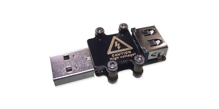Esta es la USB Kill 2.0, una llave USB capaz destruir tu ordenador en segundos #Hardware #Hacking #UBSKiller