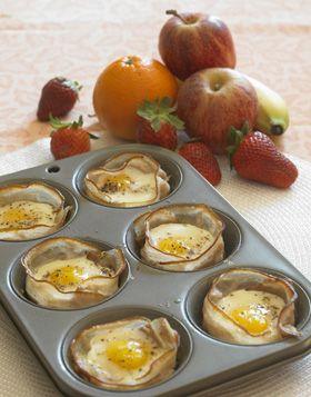 Æg pocheret i bacon - Småt & godt - Madopskrifter - Familie Journal