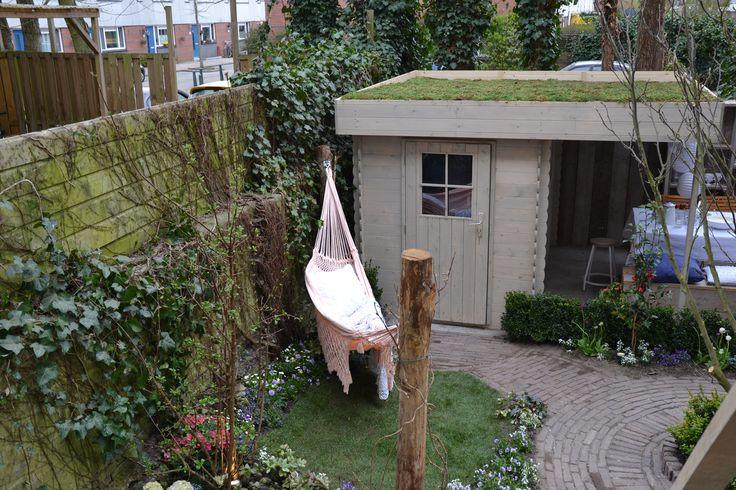 Houtdecor verfbeits is ook verkrijgbaar in mengkleuren. Hier een voorbeeld uit het programma Eigen Huis en Tuin dat Houtdecor verfbeits gebruikt.