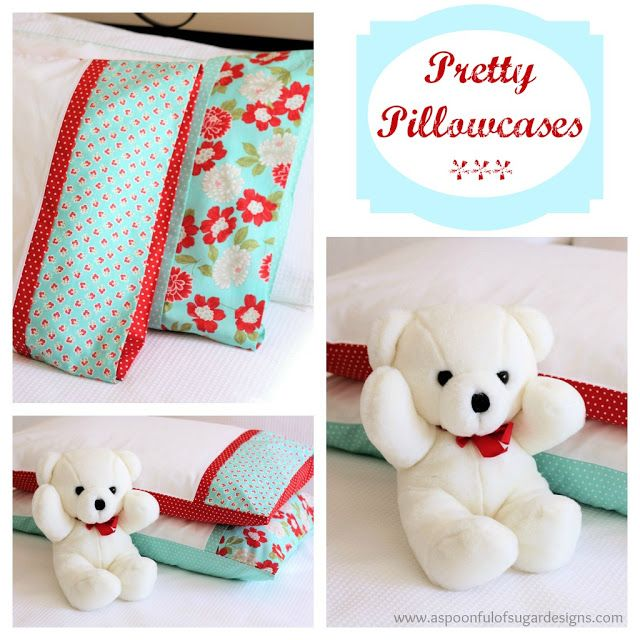 How to Sew a Pretty Pillowcase