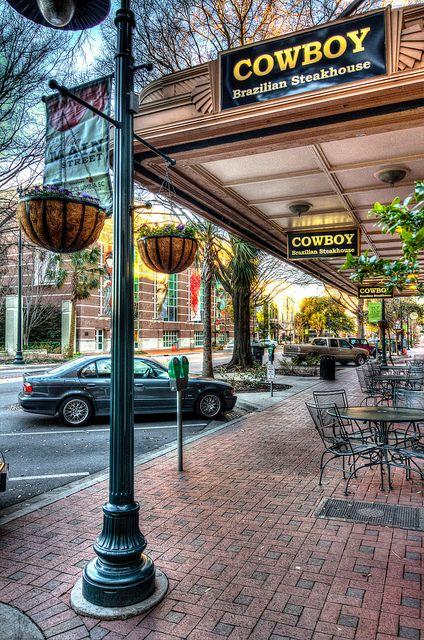 Downtown Main Street, Columbia, South Carolina