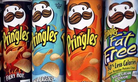 """Since when Pringles or any other chips are fat free ? They are so willing to sell their products....reassuring consumers """"its fat free""""...whatever.."""