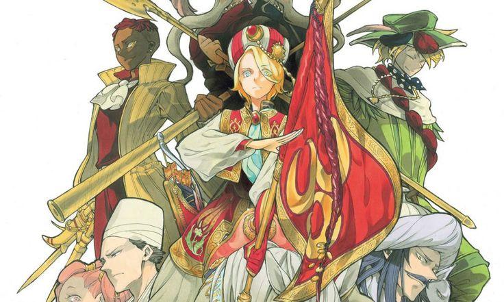Anunciado el anime de televisión de Shoukoku no Altair