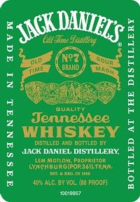 Wines 4 Today Jack Daniel's Whiskey Green Label