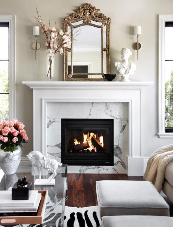 Best 25+ White mantel ideas on Pinterest | White fireplace mantels ...
