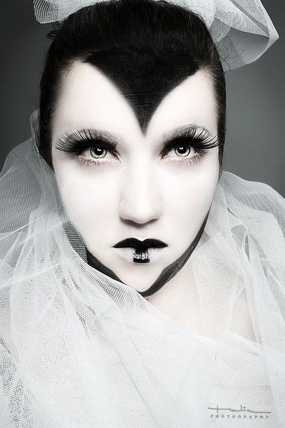 55 best Black and white images on Pinterest | Make up, Costumes ...