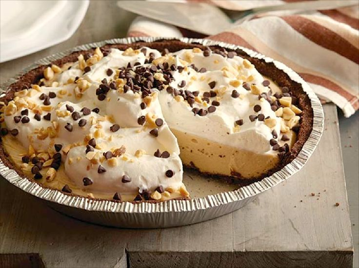 The Ulimate Chocolate-Peanut Butter Pie  #RecipeOfTheDay