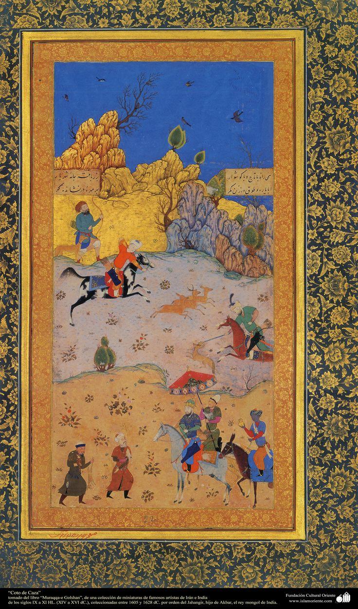 A masterpiece of Persian miniatures - Moraqqaʿ-e Golšan شاهکار مینیاتور فارسی - کتاب کوچک مرقع گلشن