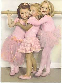 I wonder if my baby girl will like to be a ballerina