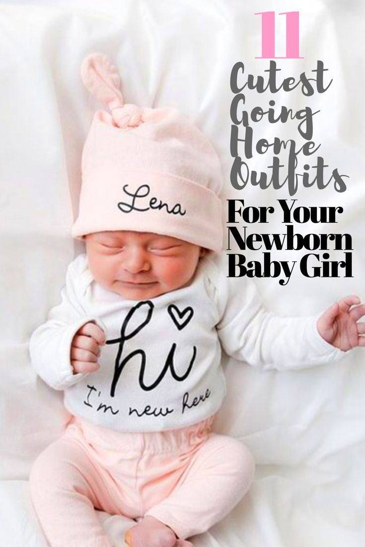 6fdc371cedef9 Are you looking for the cutest, sweetest baby girl coming home outfit? Here  is a collection of the 11 most adorable going home outfits for baby girls.