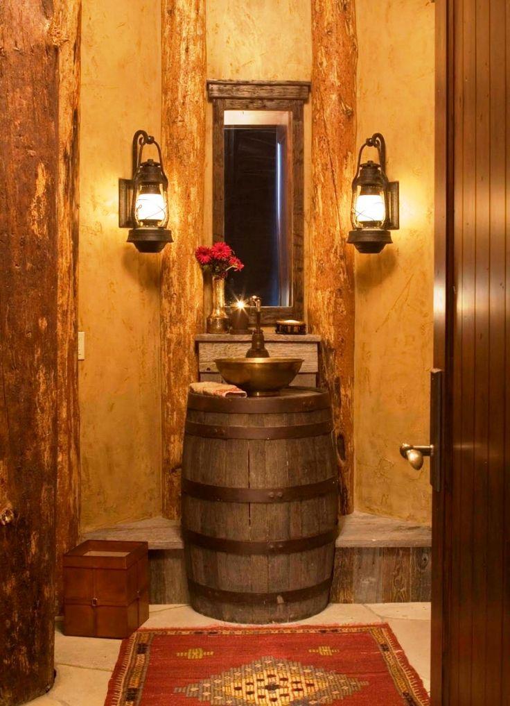 Best Wine Barrel Sink Ideas On Pinterest Barrel Sink - Wine barrel bathroom vanity for bathroom decor ideas