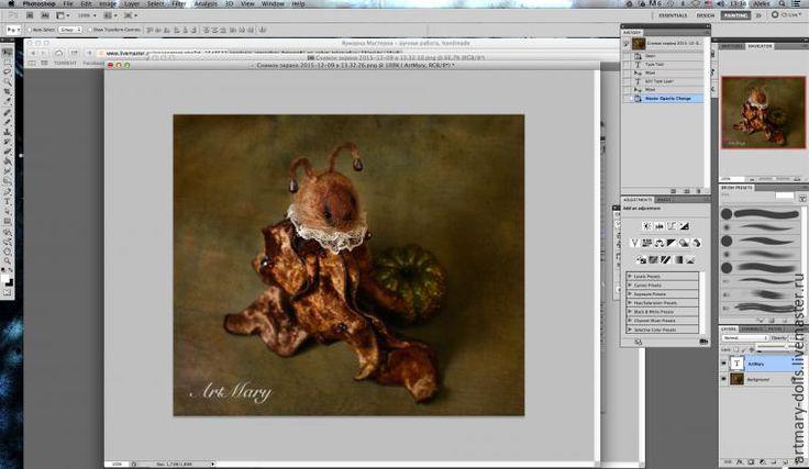 Сегодня хочу показать вам, как я создаю атмосферу в фотографиях своих работ за счет наложения текстур. Понимаю, что не все любят текстуры на фотографиях, поэтому мой небольшой мастер-класс предназначен для тех, кто хочет научиться этой несложной обработке. Разумеется, я понимаю, что всегда найдется мастер, который делает это иначе, по-своему, или более простым способом. Здесь делюсь своим…