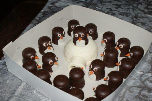 Eskimo (Mohrenkopf) Kindergeburtstag/Partybuffetdekoration - - - - - eten