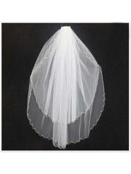 Tulle Cathedral Length Wedding Veil