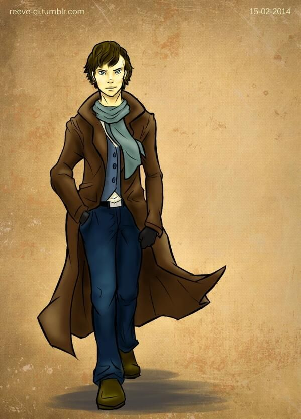 Twitter  @Reeve_qi #sketch_dailies  #Sherlock