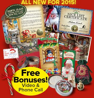 Order a one-of-a-kind, personalized letter or package from Package From Santa! Our products deliver Christmas magic from the North Pole to your front door. We have unique, fun packages that will create holiday memories of wonder and delight for your child. PackageFromSanta.com
