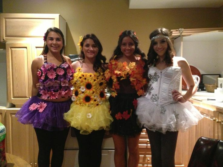 homemade halloween costume, the FOUR SEASONS