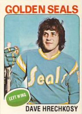 The California Golden Seals (or Oakland Seals) didn't have much success on the ice, but they had some very original uniforms.